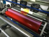 Machine d'impression dissolvante de Flexo d'encre de 4 couleurs pour le roulis de film plastique (DC-YT4600)