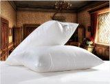 Luxury 50% Pato Branco travesseiro para o pescoço para baixo