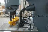Q35y-25 de Hydraulische Gecombineerde Machine van het Ponsen & het Scheren