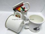 Fazer personalizado 5/6/7/8/9/10/11/12cm caneca de café xícara de chá de esmalte uma caneca de cerveja