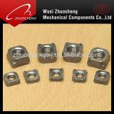 Noix carrée de l'acier du carbone d'acier inoxydable DIN557