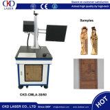 30W / 50 / W100W CO2 Machine de marquage laser pour Woden et autres non-Metal