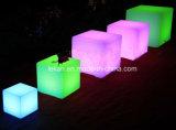Taburete de barra de Trasparent LED para los muebles del club (LL-BC046)