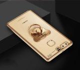 iPhone8 Huawei MiヴィヴォのためのTPUのリングのホールダーの電話箱