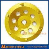 PCD алмазные шлифовальные чашки колеса/диск для снятия эпоксидного клея и Glude