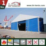 Tente en acier imperméable à l'eau d'entrepôt de mur de panneau de toit et de sandwich de PVC de bâti en acier