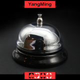 カジノのカジノの火かき棒表ゲームYm-CB01のための専用ステンレス鋼呼出し鐘
