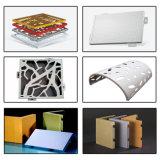 Dekorative Innenmaterial-Aluminiumpanel für Gebäude-Pfosten