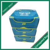 Boîte à chaussures en carton ondulé de papier pour le commerce de gros
