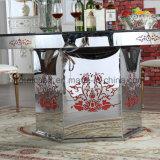 Mayorista Salable juego de mesa de comedor de mármol de lujo para banquetes