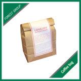 Papel Kraft personalizada bolsa de embalaje de granos de café (FP8039101)