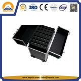 못 예술 (HB-6338)를 위한 새로운 직업적인 알루미늄 트롤리 상자 장식용 케이스
