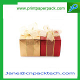 Cadre de empaquetage de faveur de cadeau fait sur commande de Noël