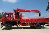 Hete Verkoop 5 Ton van de Telescopische Kraan XCMG 10 Ton van de Vrachtwagen Opgezet met Kraan