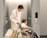 침대 상승 병원 엘리베이터 의학 엘리베이터 들것
