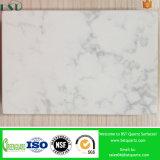 Seeshell-weiße ausgeführte Quarz-Stein-Platten