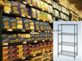 Стандартная сверхмощная коммерчески полка стеллажа для выставки товаров магазина супермаркета