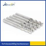 Joeryfun Hartmetall-flaches Enden-Tausendstel für Aluminium
