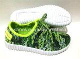 最新の子供の注入のズック靴の偶然靴(FFDL112102)