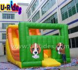 レンタルイベントのための商業膨脹可能なスライド水スライドの屋外ゲーム