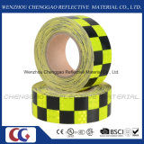 Lichtgevende Fluorescente Geruite Weerspiegelende Band voor Verkeersteken (c3500-g)