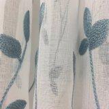 熱い販売の刺繍の停電の薄いカーテンファブリック(11F0047)
