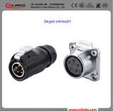 Cnlinko IP65 Conector do eletricador Conector de arame macho Plug for Power Equipment