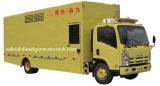 Groupe électrogène diesel portatif de centrale du groupe électrogène de remorque 20/800kw