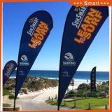 옥외 사건 광고하거나 Sandbeach를 위한 도매 바닷가 깃발