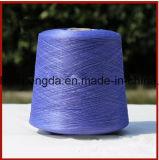 Filé en soie cru de la mûre 3A-5A pure pour le tricotage