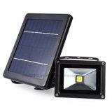 Nueva lámpara de pared solar al aire libre impermeable de la luz de inundación de la energía solar LED de 9V 3W