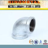 cotovelo galvanizado DIN2950 do ferro 1/8inch/6inch maleável