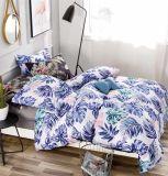 100% assestamento del tessuto stampato grande fiore del poliestere, coperchio di base, tessile domestica