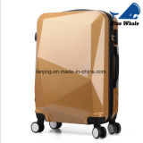 Arbeitsweg-Koffer-Gepäck-Sets der Diamant-Ausschnitt-Oberflächen-Laufkatze-Beutel-ABS+PC