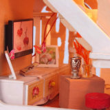 2017 het Mooie Houten Huis van Doll DIY