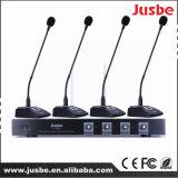 12V macht VHF 4 Microfoon van de Conferentie van de Manier de Professionele Draadloze
