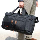 Sacchetto su ordinazione dei bagagli di corsa del Tote del Duffle di ginnastica promozione della tela di canapa/del poliestere