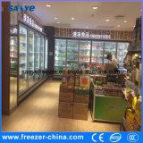 Expendidora automática de cristal vertical congelada de la visualización de la puerta del helado