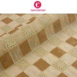 Bordado suizo de la tela del cordón del algodón del diseño más nuevo