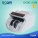 Macchina del contatore dei soldi dei contanti con il magnesio UV IR del rivelatore di valuta