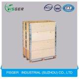 Rectángulo material de madera verdadero grueso de la brazola para el transporte