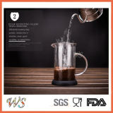 Creatore di caffè caldo della pressa del francese di vendita Wschxx027 con la pressa del caffè della base del silicone