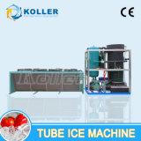 Máquina del tubo del hielo con la operación de control del PLC fácilmente