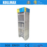 Preiswertes 4X6 tritt das Aluminium, das vielseitige grosse Scharnier-Strichleiter faltet