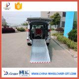 350kg aluminium Rampes de chargement en fauteuil roulant pour les passagers en fauteuil roulant