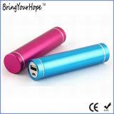 2600mAh de energía del cilindro de aleación de aluminio Banco (XH-PB-004)