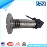 Transmissor de pressão pequeno de alta temperatura do diafragma nivelado, 4~20mA/0~20mA/0~10mA/1~5V