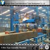 Machine automatique de production de poutre à caissons