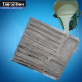 Silicone liquide à faible encrassement pour fabrication de moules Produits en béton
