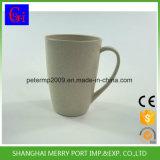 370ml 12oz BPA geben heißes Verkaufs-Weizen-Faser-Cup mit Griff frei